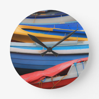 Rowing Boats Wall Clock