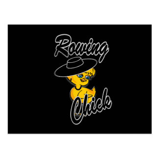 Rowing Chick #4 Postcard