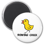 rowing, rower, magnet