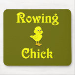 Rowing Chick Mouse Pads