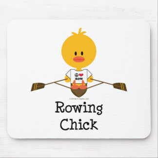 Rowing Chick Mousepad