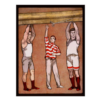 Rowing Cox Vintage Sports Rowers Rowing Boat Row Print