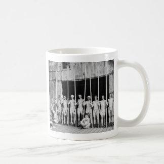 Rowing Crew, 1916 Coffee Mug