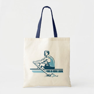 Rowing Crew Canvas Bags