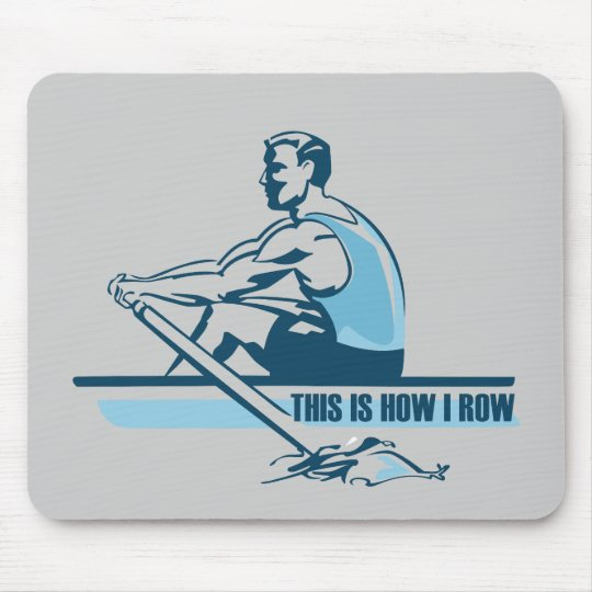 Rowing Crew Mouse Pad