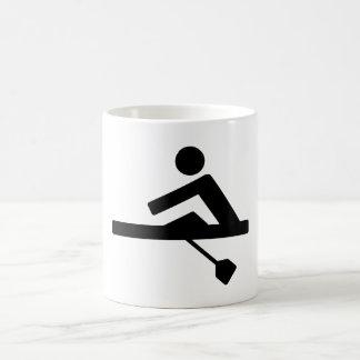Rowing Crew Pictogram Magic Mug
