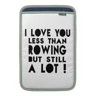 Rowing Designs MacBook Air Sleeves