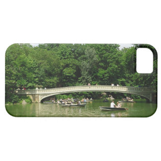 Rowing in Central Park iPhone SE/5/5s Case