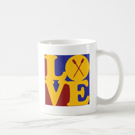 Rowing Love Coffee Mug