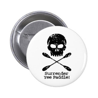 Rowing Pirate 2 Inch Round Button