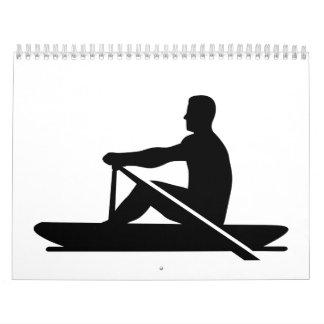 Rowing rower calendar