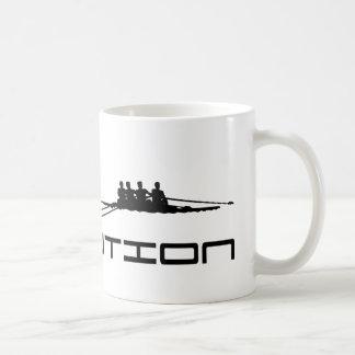 Rowing Rower Water Sport Evolution Art Coffee Mug