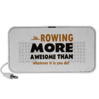 Rowing sports designs portable speakers