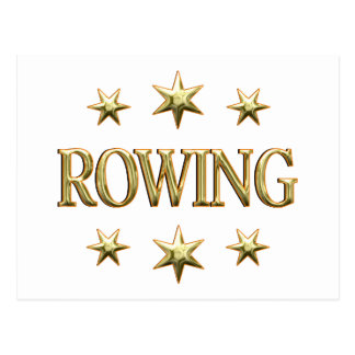 Rowing Stars Postcard