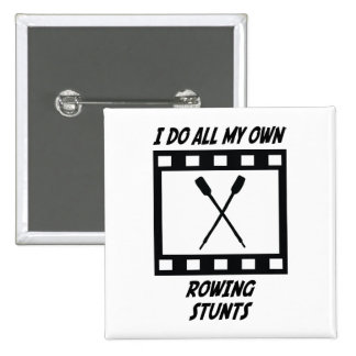 Rowing Stunts Pinback Button