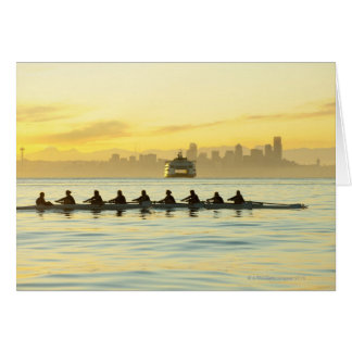 Rowing Team 2 Card