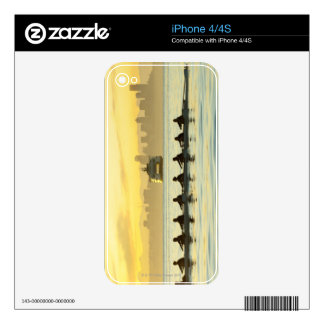 Rowing Team 2 iPhone 4 Decal