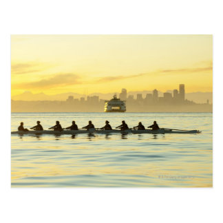 Rowing Team 2 Postcard