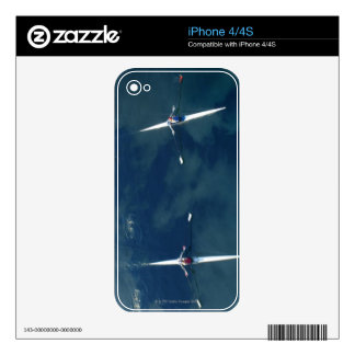 Rowing Team Decals For iPhone 4