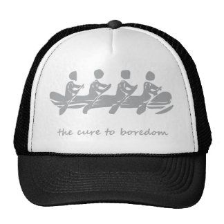 Rowing, the cure to boredom trucker hat