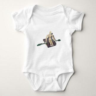 RowingOarsOnBriefcase050512.png Baby Bodysuit