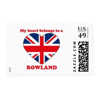 Rowland Stamp