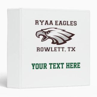 Rowlett Youth Athletic Association Ryaa Eagles Binder