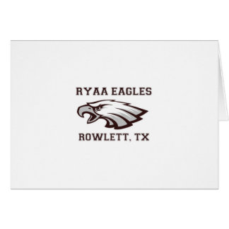 Rowlett Youth Athletic Association Ryaa Eagles Card
