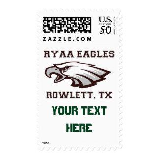 Rowlett Youth Athletic Association Ryaa Eagles Postage