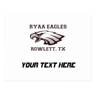 Rowlett Youth Athletic Association Ryaa Eagles Postcard