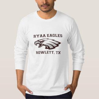 Rowlett Youth Athletic Association Ryaa Eagles Tee Shirt