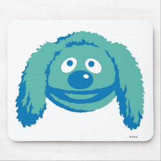 Rowlf Disney sonriente de los Muppets Mousepad