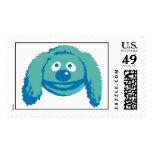 Rowlf Disney sonriente de los Muppets Sello