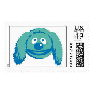 Rowlf Disney sonriente de los Muppets Timbres Postales