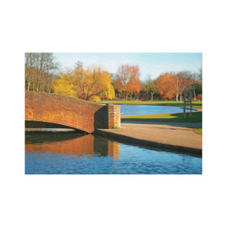 Rowntree Park Gallery Wrapped Canvas