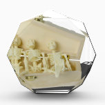 """RowofSkeletonsCoffin070515 Acrylic Award<br><div class=""""desc"""">Row of Skeletons in Coffin</div>"""