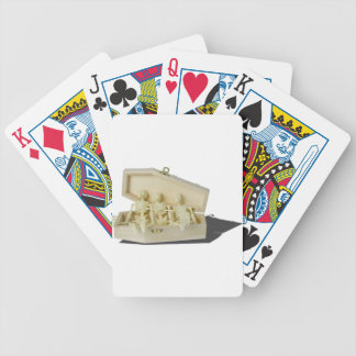 RowofSkeletonsCoffin070515 Bicycle Playing Cards