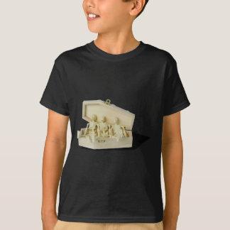 RowofSkeletonsCoffin070515 T-Shirt