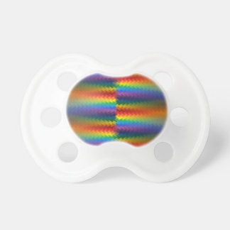 Rows of a Rainbow Fire Pacifier