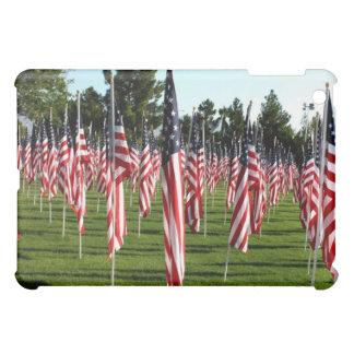 Rows of American Flags 9 11 Memorial - Corner iPad Mini Case
