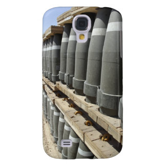 Rows of ammunition are stacked and prepped galaxy s4 cover