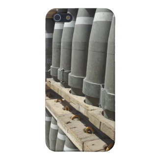Rows of ammunition are stacked and prepped iPhone SE/5/5s cover