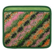 """Rows of Blooms"" pattern iPad Sleeve"