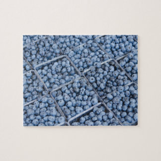 Rows of blueberries jigsaw puzzle