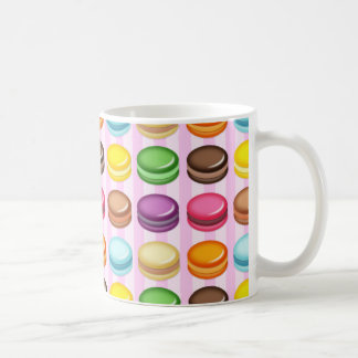 Rows of Macarons Classic White Coffee Mug