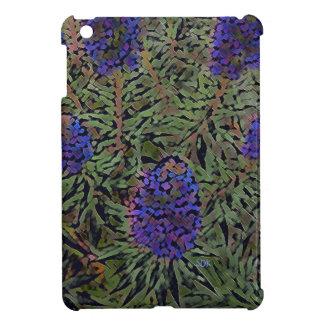 Rows of Purple California Lavender Plant  Del Mar Case For The iPad Mini