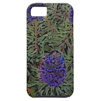 Rows of Purple California Lavender Plant  Del Mar iPhone SE/5/5s Case