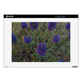 Rows of Purple California Lavender Plant  Del Mar Laptop Skins