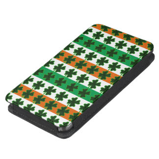 Rows of Shamrocks for St Patrick's Day Galaxy S5 Pouch