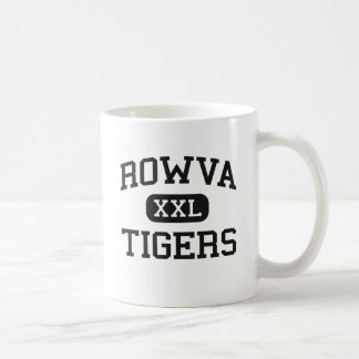 ROWVA - Tigres - High School secundaria - Oneida Taza Básica Blanca